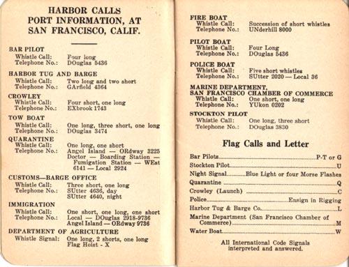 Harbor Calls